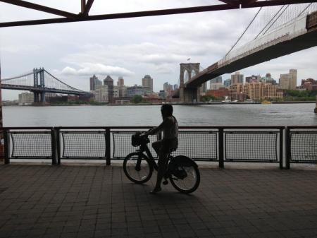 Biking in New York