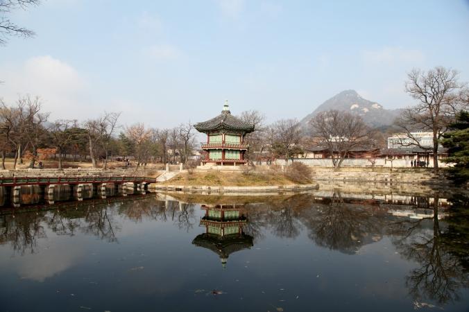 Hyangwonjeong Pavilion - Seoul, South Korea