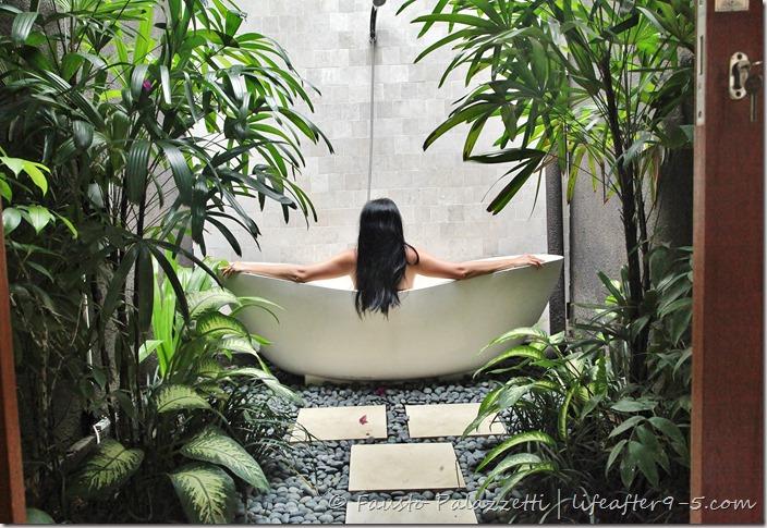 Villa Seminyak Bathtub