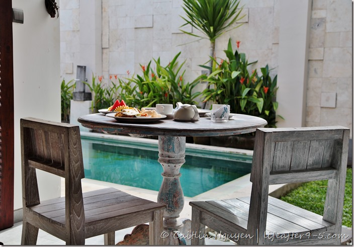 Canggu Villa Breakfast