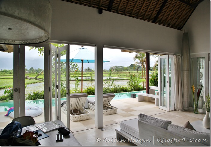 Rice Terrace Villa Ubud Pool