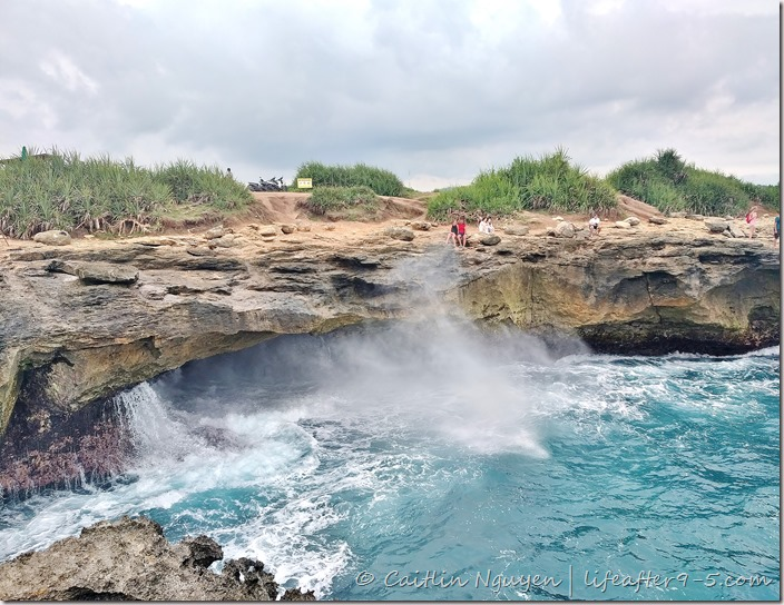 Devil's Tear on Nusa Lembongan