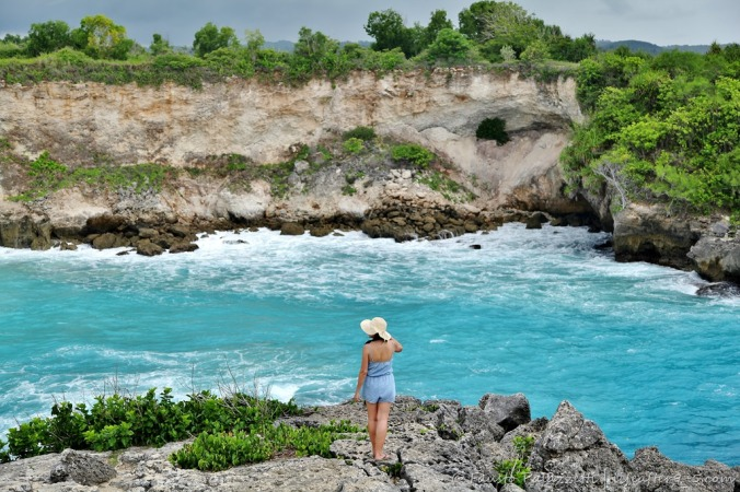 Blue Lagoon on Nusa Ceningan