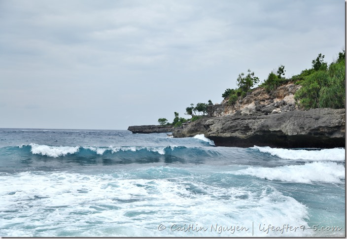 Secret Beach on Nusa Ceningan