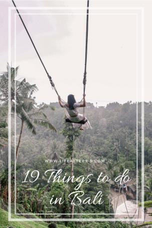 19 Things to do in Bali -Bali Swing