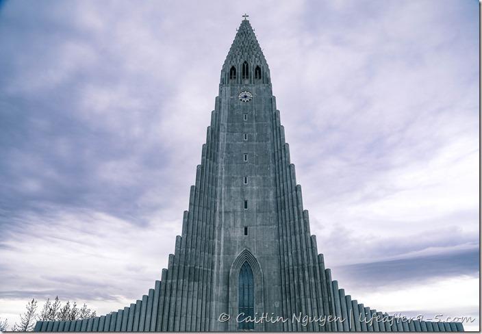 Impressive Hallgrímskirkja in Reykjavik