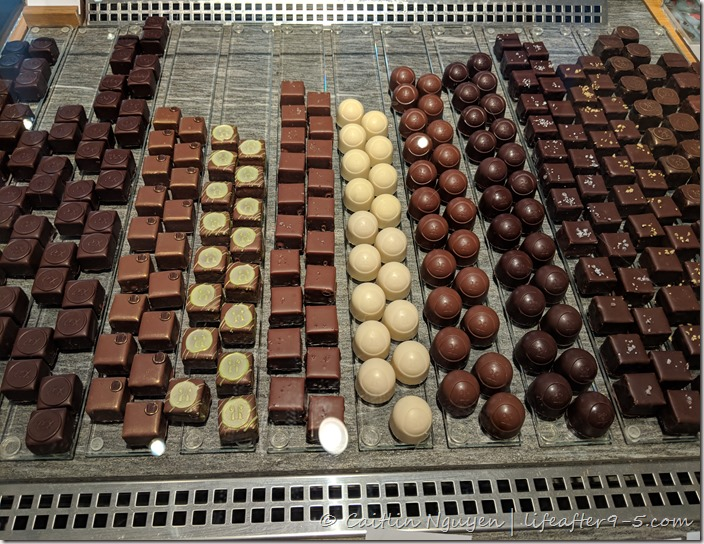 Handmade chocolate from Max Chocolatier