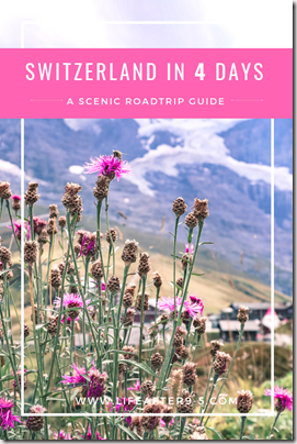 Switzerland scenic road trip guide