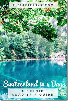 Amazing road trip around Switzerland