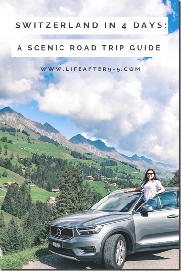 A scenic road trip guide for Switzerland
