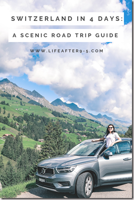 Epic road trip around Switzerland