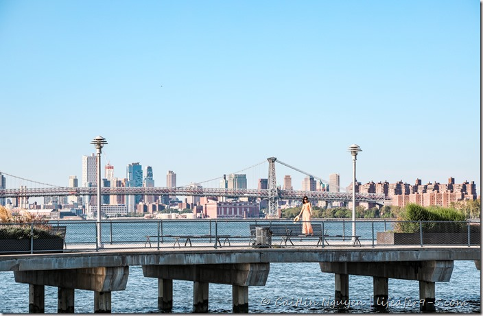 New York skyline from Greenpoint